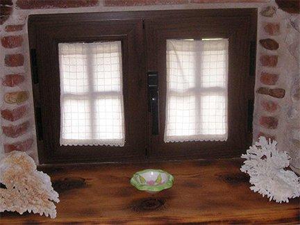Trabajo realizado. Ejemplo de ventana lacado madera