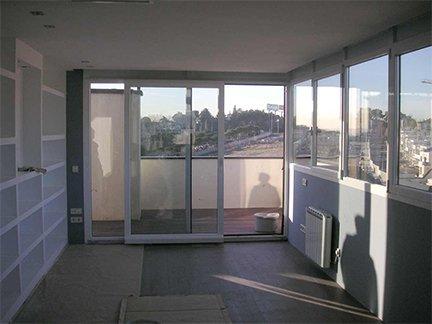 Trabajo realizado. Ejemplo de ventana Serie Nordic 60